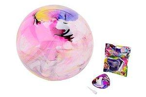 Johntoys Míč bubble jumbo duhový