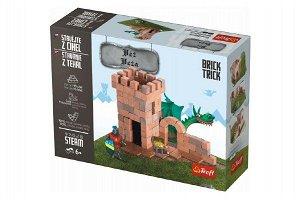Trefl Stavějte z cihel Věž stavebnice Brick Trick v krabici 28x21x7cm