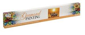 Alltoys Malovámí pomocí kamínků Diamond - Zebra 40x50 cm