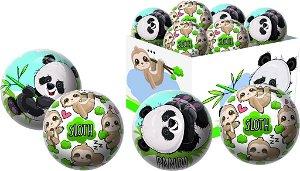 UNISON Míč Panda/Lenochod 2 15 cm