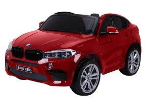 Ramiz Elektrické autíčko BMW X6 M, 2 místné lakované červené JJ2168