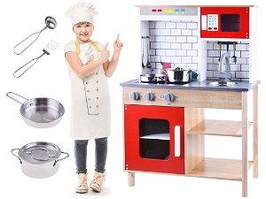 Dřevěná kuchyňka s příslušenstvím ZA3574