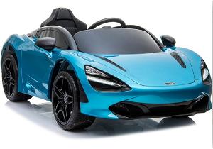 Dětské elektrické autíčko McLaren 720S lakované modré 4342