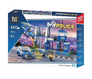 Stavebnice Blocki Moje Policie KB0616
