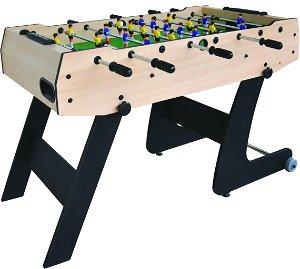 Skládací stolní fotbal - dřevěný