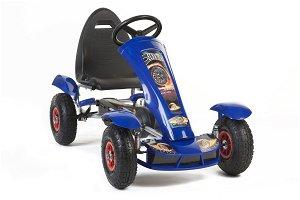 Šlapací čtyřkolka Go-Kart F618 - modrá