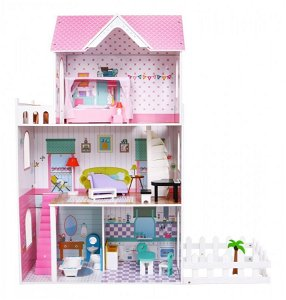 Dřevěný domeček pro panenky ANGELINA