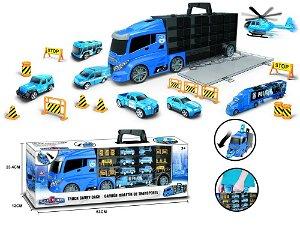 Kamión s autíčky