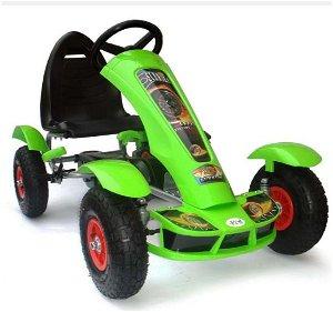 Šlapací čtyřkolka Go-Kart F618 - zelená