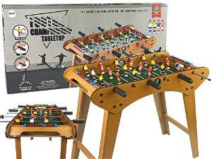 Dětský dřevěný stolní fotbálek skládací