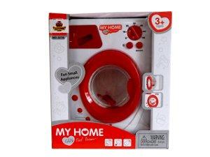 Dětská automatická pračka 3216A - červená