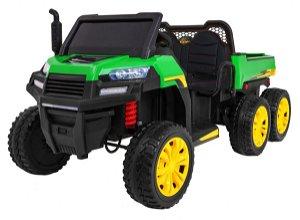 Elektrické farmářské autíčko - zelené