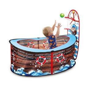 Dětský suchý bazén Pirátská loď s 30 míčky
