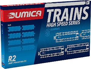 Přídavné koleje Dumica R2