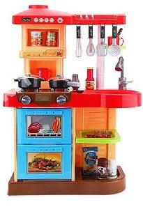 Dětská kuchyňka se zvuky - červená
