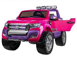 Elektrické autíčko Ford Ranger Wildtrak Luxury 2020 - růžové