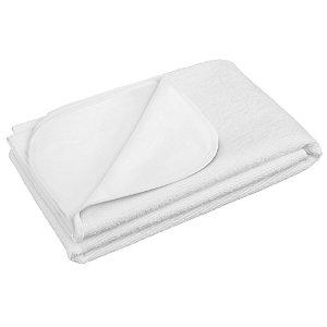 Nepromokavá podložka Akuku froté 50x70 bílá Bílá
