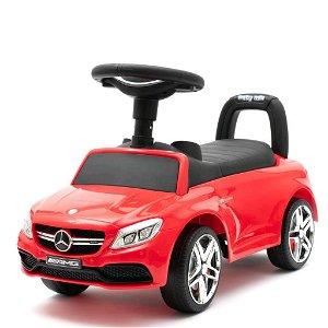 Odrážedlo Mercedes Benz AMG C63 Coupe Baby Mix červené Červená