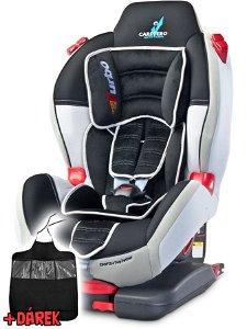 Autosedačka CARETERO Sport TurboFix grey 2016 Šedá