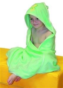 Froté ručník - Scarlett kačenka s kapucí - bílá
