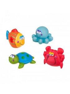 Hračka do koupele Akuku mořský svět Multicolor