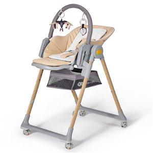 KINDERKRAFT Židlička jídelní Lastree Wood