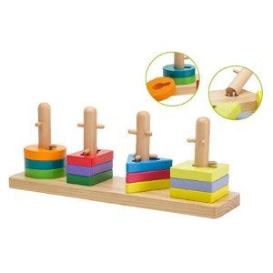 Dřevěná skládačka Puzzle 12m+