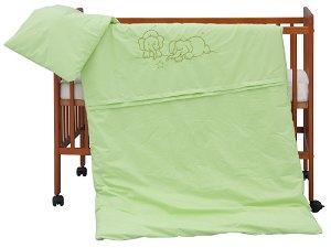 Dětské povlečení 2dílné - Scarlett Bimbo - zelená 100 x 135 cm