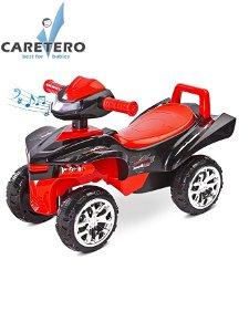 Odrážedlo čtyřkolka Toyz miniRaptor červené Červená