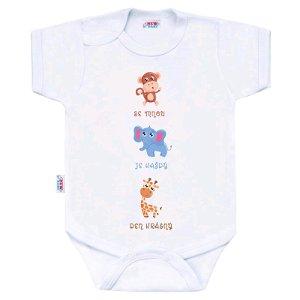 Body s potiskem New Baby ...Krásný Den Dle obrázku 86 (12-18m)
