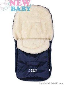 Zimní fusak New Baby Classic Wool blue Modrá