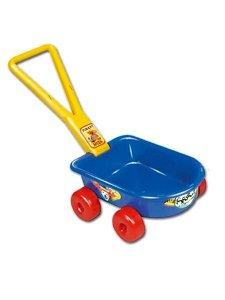Dětský vozík - modrý Modrá