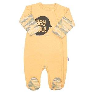 Kojenecký overal New Baby With Love hořčicový Žlutá 74 (6-9m)