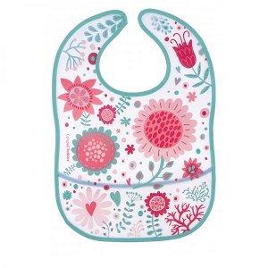 CANPOL BABIES Bryndák s kapsou WILD NATURE růžový