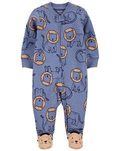 CARTER'S Overal zip oboustranný Blue Lion chlapec PRE