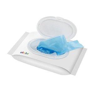 Voňavé sáčky na použité plenky Akuku 100 ks Modrá