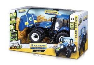 Maisto RC Farm Tractor New Holland T8.320 Modrý 1:16