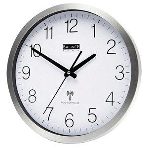 Balance rádiem řízené nástěnné hodiny 30 cm