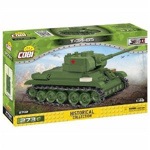 Cobi 2702 II WW T-34/85, 1:48, 273 kostek