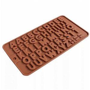 Silikonová forma na čokoládu - písmenka