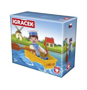EFKO IGRÁČEK - Námořník s lodičkou