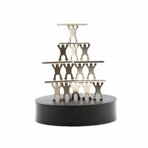 Magnetická skulptura Lidi