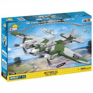 Cobi 5718 II WW De Havilland Mosquito FB MK VI, 452 kostek