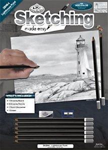 Royal Langnickel malování skicovacími tužkami - Maják