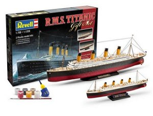 Revell 05727 - R.M.S. Titanic, Dárková sada 2 modelů