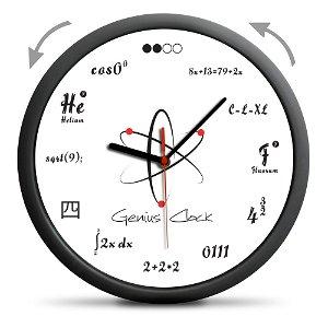 Froster Nástěnné hodiny Genius, průměr 30 cm