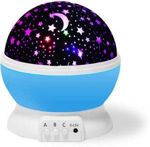 Projektor noční oblohy Deluxe, Modrý