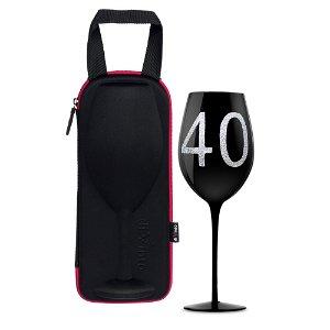 diVinto Slavnostní obří sklenice na víno 870 ml., 40 let