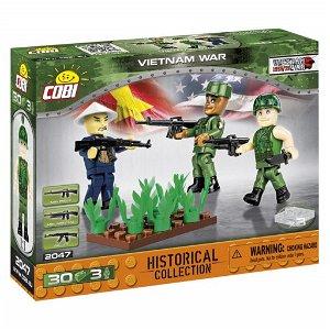 Cobi 2047 3 figurky s doplňky Vietnamská válka, 30 kostek