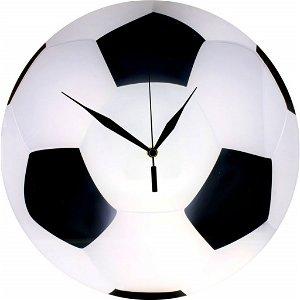 Nástěné skleněné hodiny - Fotbal